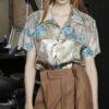 Camel pants bespoke tailored infused front pleat 100% italian cashmere wool stavreva kreator velcro closure waistband